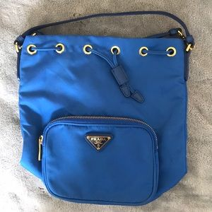 Prada Tessuto Bucket Bag
